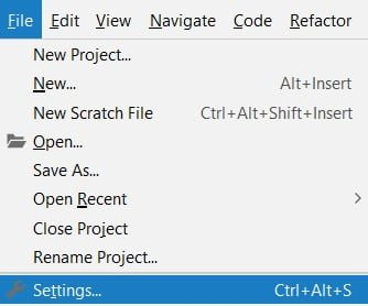 Python getting started Pycharm settings