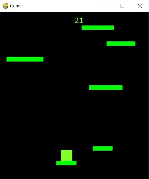 Game programming with Pygame