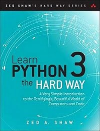 Python Book recommendations - Python3 the Hard way